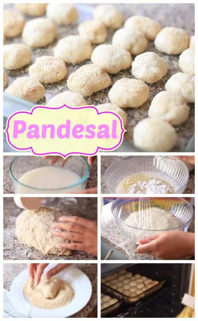 how to make pandesal step by step