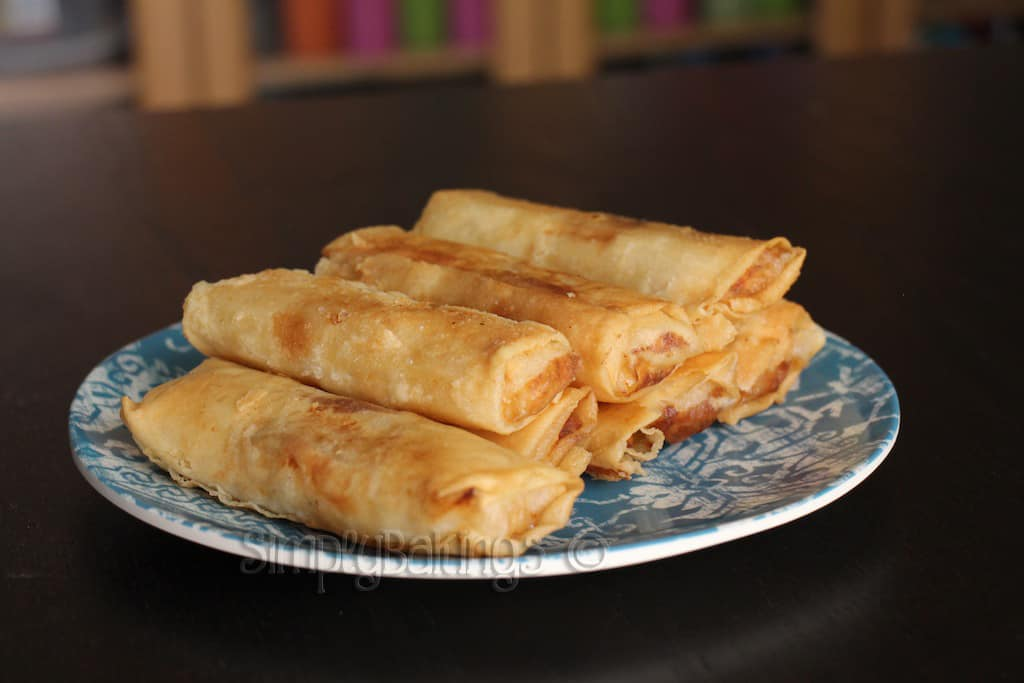 delicious turon on a plate