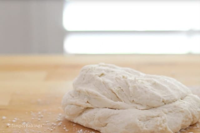 well-kneaded 7-up biscuits dough