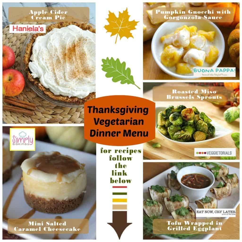 ThanksgivingVegetarianMenuCollage