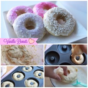 Vanilla Donuts step by step guide