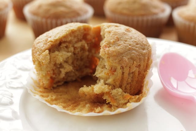 Soft, moist, and fluffy carrot cake cupcakes