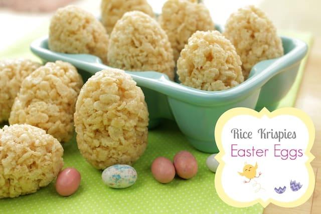 rice krispies easter eggs