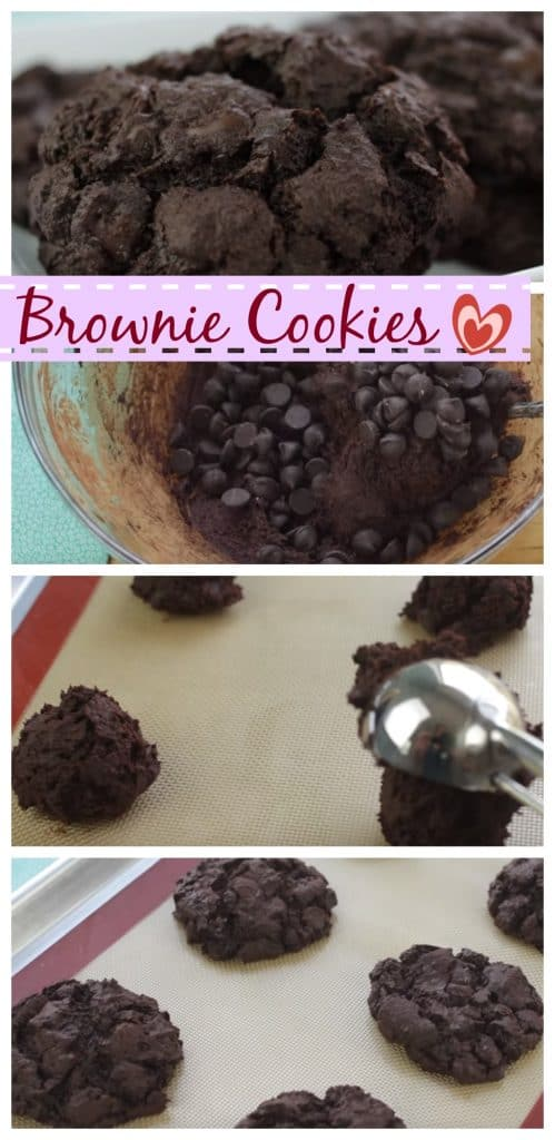 Brownie Cookies step by step