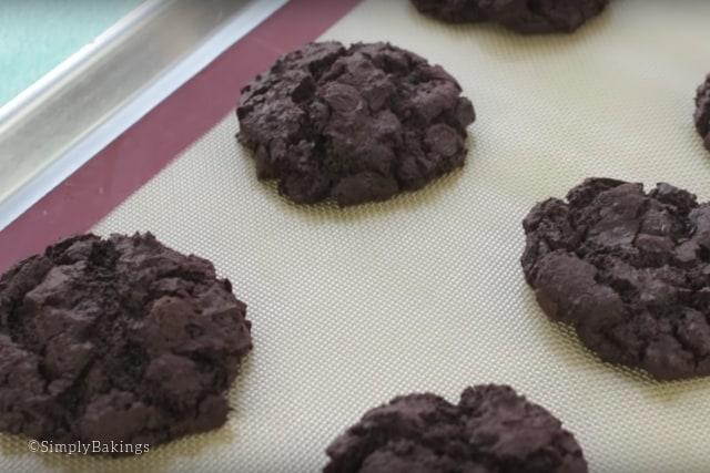 freshly baked brownie cookies recipe