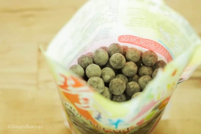 uncooked boba for Avocado Milk Shake recipe
