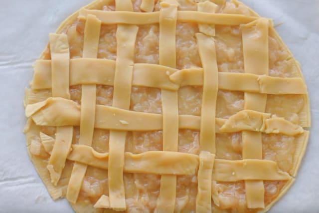ready to bake Apple pie cookies