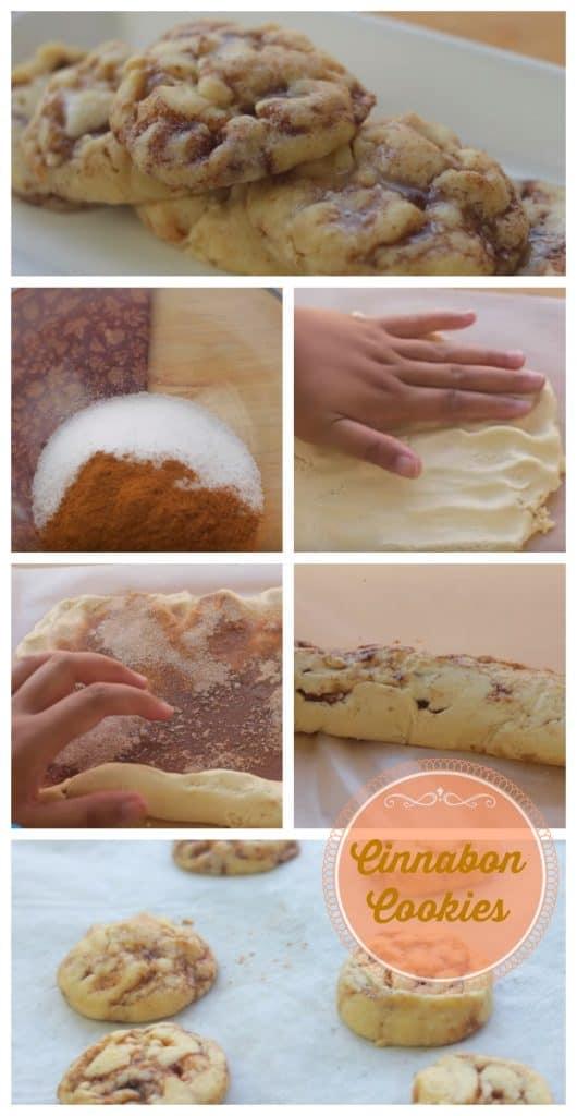 Cinnabon Cookies step by step guide