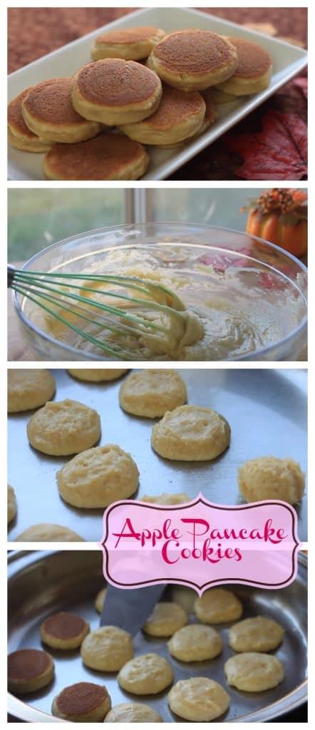 Apple Pancake Cookies step by step guide