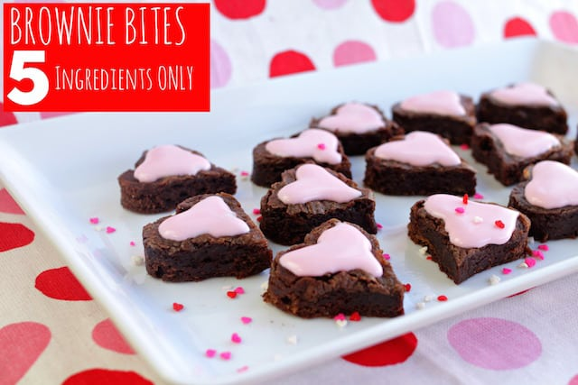 Brownie Hearts And Brownie Bites Recipes — Dishmaps