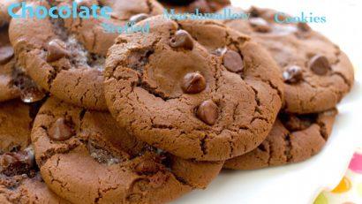 chocolate stuffed marshmallow cookies