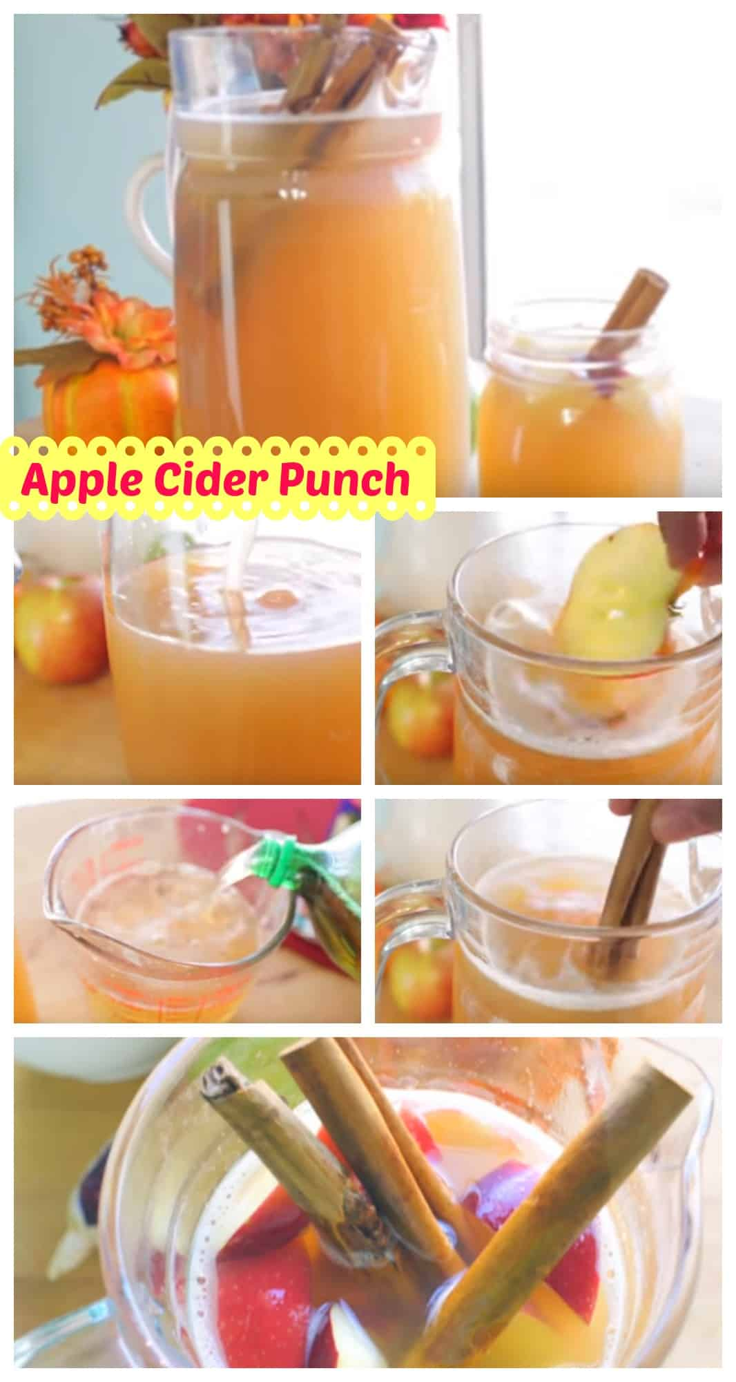 apple cider punch print recipe type drink ingredients 4 cups apple ...
