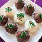delicious no bake cookie dough truffle