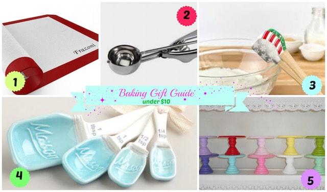 Baker Christmas Gift Guide