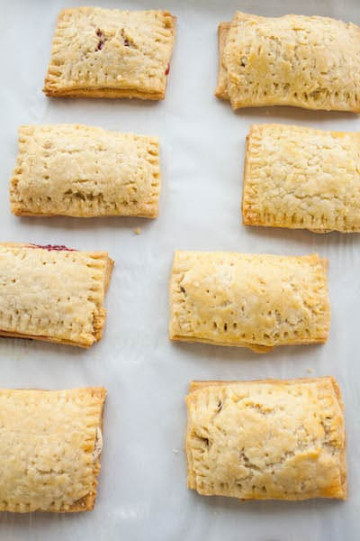 freshly baked toaster pastries