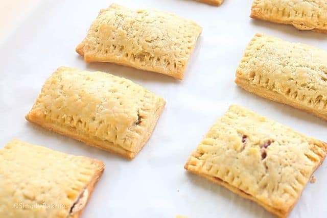freshly baked toaster pastries in 3 flavors
