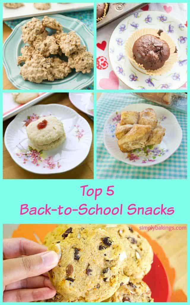 Top 5 Simple Back to School Snacks