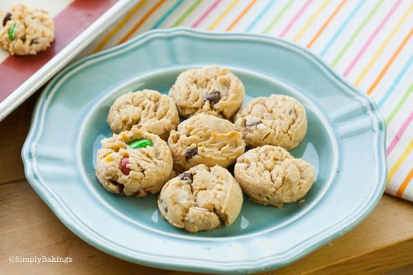 mixed candy cookies