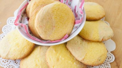 Funfetti Lemon Cake Mix Cookies