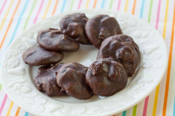Brownie Meringue Cookies | 5 Ingredients ONLY