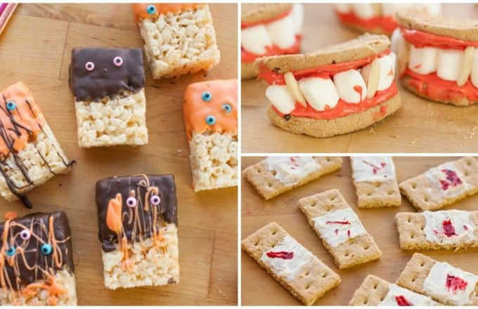 No Bake Halloween Treats