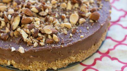 nutella cheesecake no bake