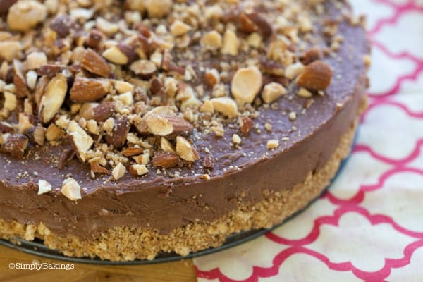 Nutella Cheesecake No BAKE