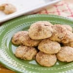 snickerdoodle apple cookies