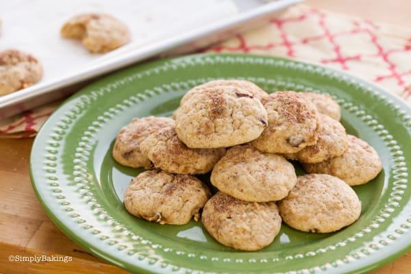 Snickerdoodle Apple Cookies