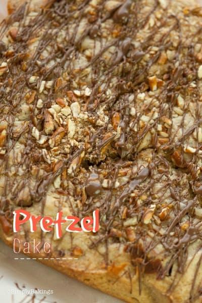 Pretzel cake for beginners