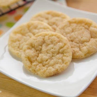 DAIRY FREE Snickerdoodle Cookies