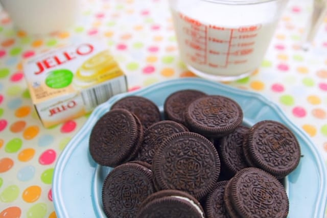 Jello, Oreos, and Milk