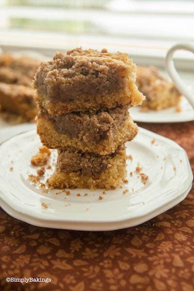 dairy free vegan coffee cake