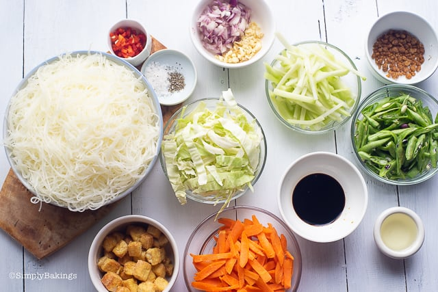 pancit bihon ingredients