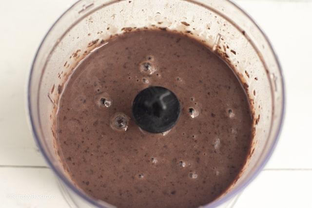 mushy black beans for vegan dinuguan