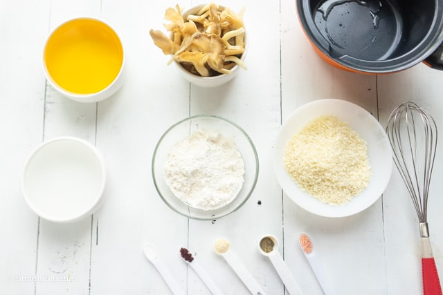 mushroom chicharon ingredients