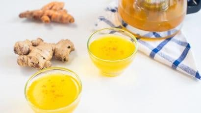 delicious salabat detox on a cup