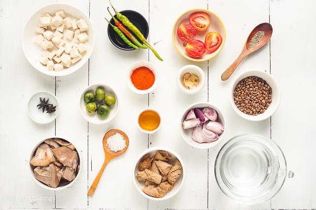 ingredients of vegan cansi