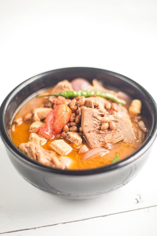 vegan cansi in a bowl
