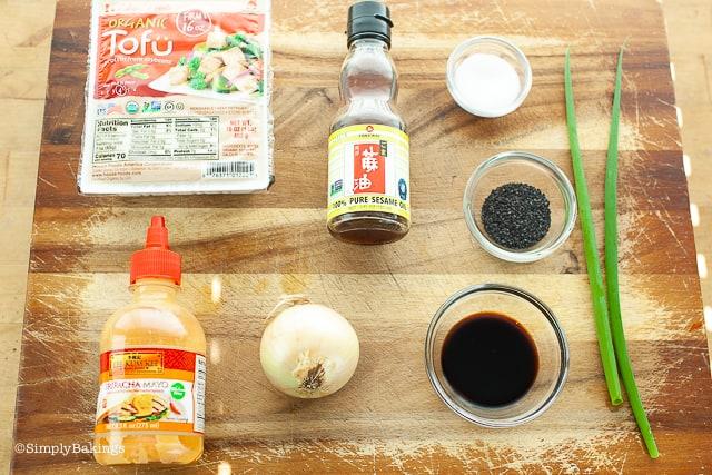 tofu poke ingredients