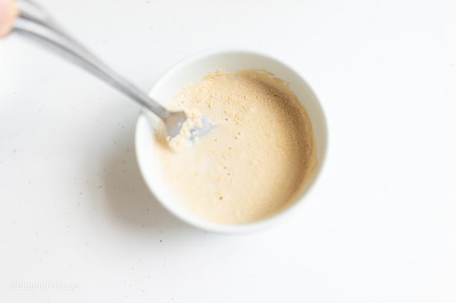 yeast in a bowl