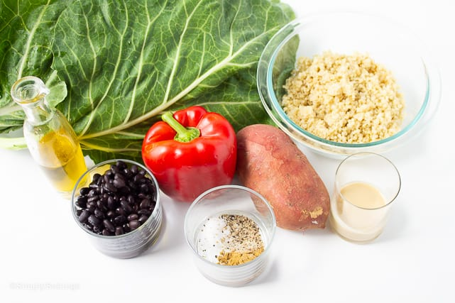 vegan collard wraps ingredients
