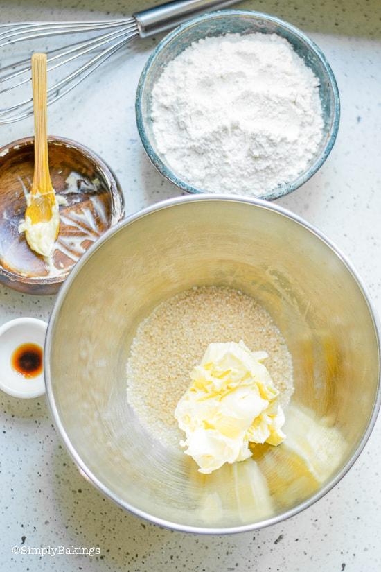 ingredients of Patriotic Vegan Shortbread Trifle