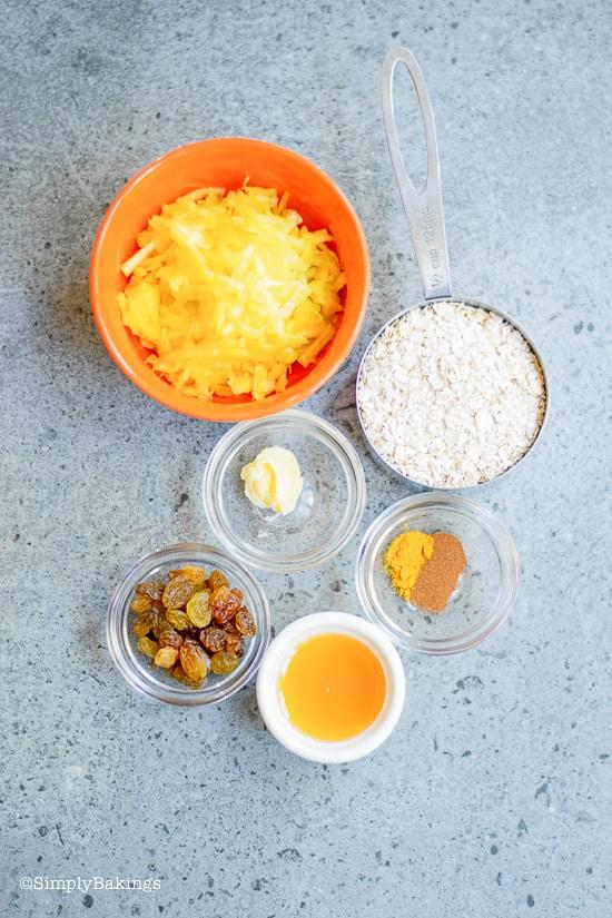 vegan pumpkin oatmeal ingredients