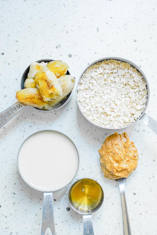 ingredients for egg free pancakes