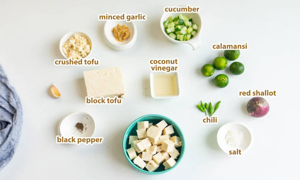 ingredients for kilawin
